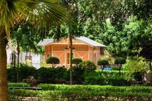 mała architektura aranżacja ogrodów przydomowych